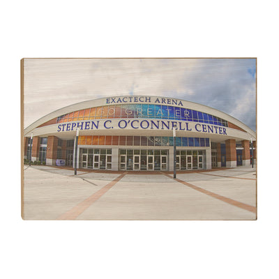 Florida Gators - O'Connell Center - College Wall Art #Wood