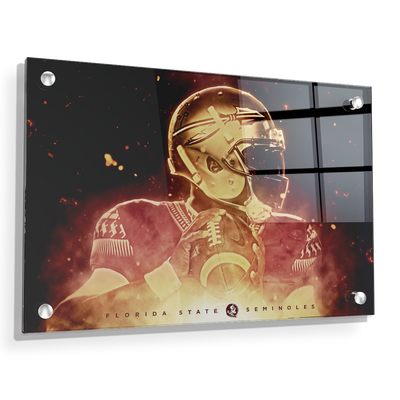 Florida State Seminoles - Epic Seminole - College Wall Art #Acrylic