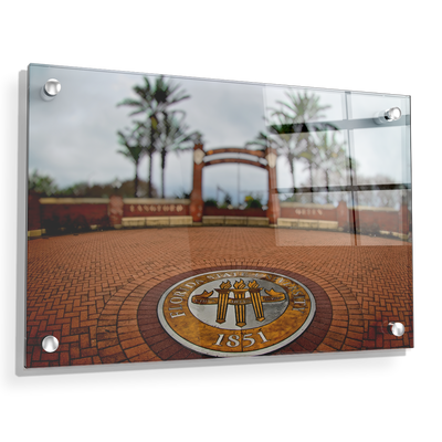 Florida State Seminoles - FSU 1851 - College Wall Art #Acrylic