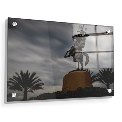 Florida State Seminoles - Unconquered Stormy Skies - College Wall Art #Acrylic