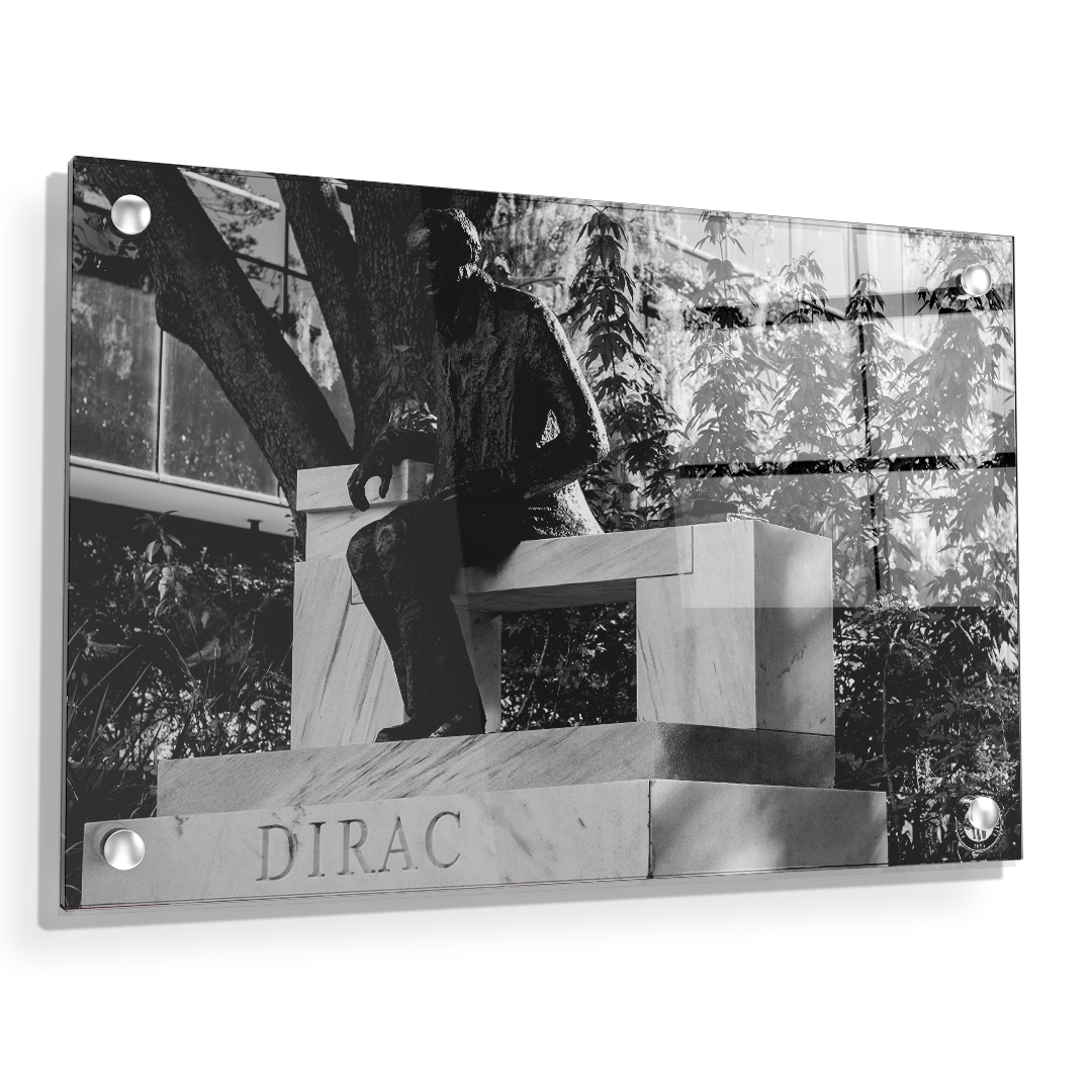 Florida State Seminoles - Dirac Deep in Thought - College Wall Art #Canvas