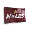Florida State Seminoles - Go Noles - College Wall Art #Acrylic Mini