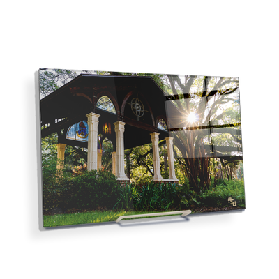 Florida State Seminoles - Gazebo at Greek Park - College Wall Art #Acrylic Mini