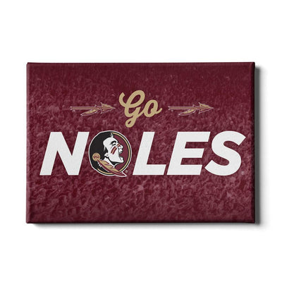 Florida State Seminoles - Go Noles - College Wall Art #Canvas