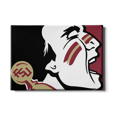 Florida State Seminoles - Osceola Brand - College Wall Art #Canvas