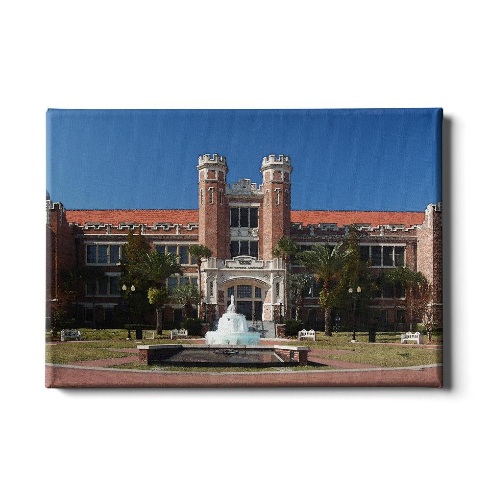 Florida State Seminoles - Westcott Watercolor - College Wall Art #Canvas