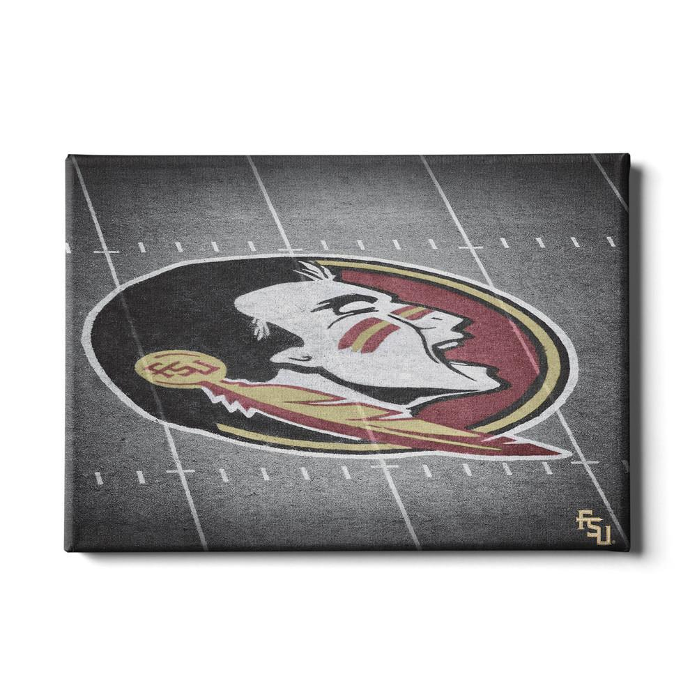 Florida State Seminoles - 50 Yard Line - College Wall Art #Canvas