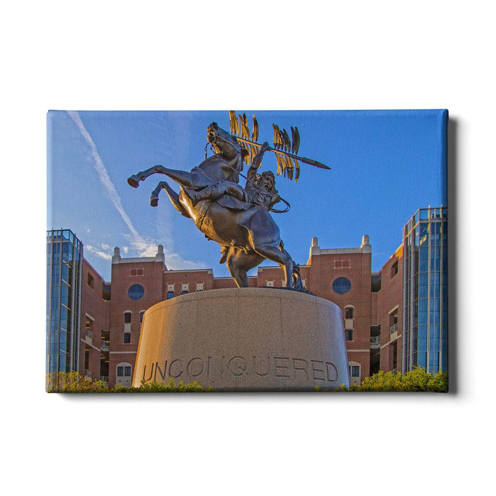 Florida State Seminoles - Unconquered Statue - College Wall Art #Canvas