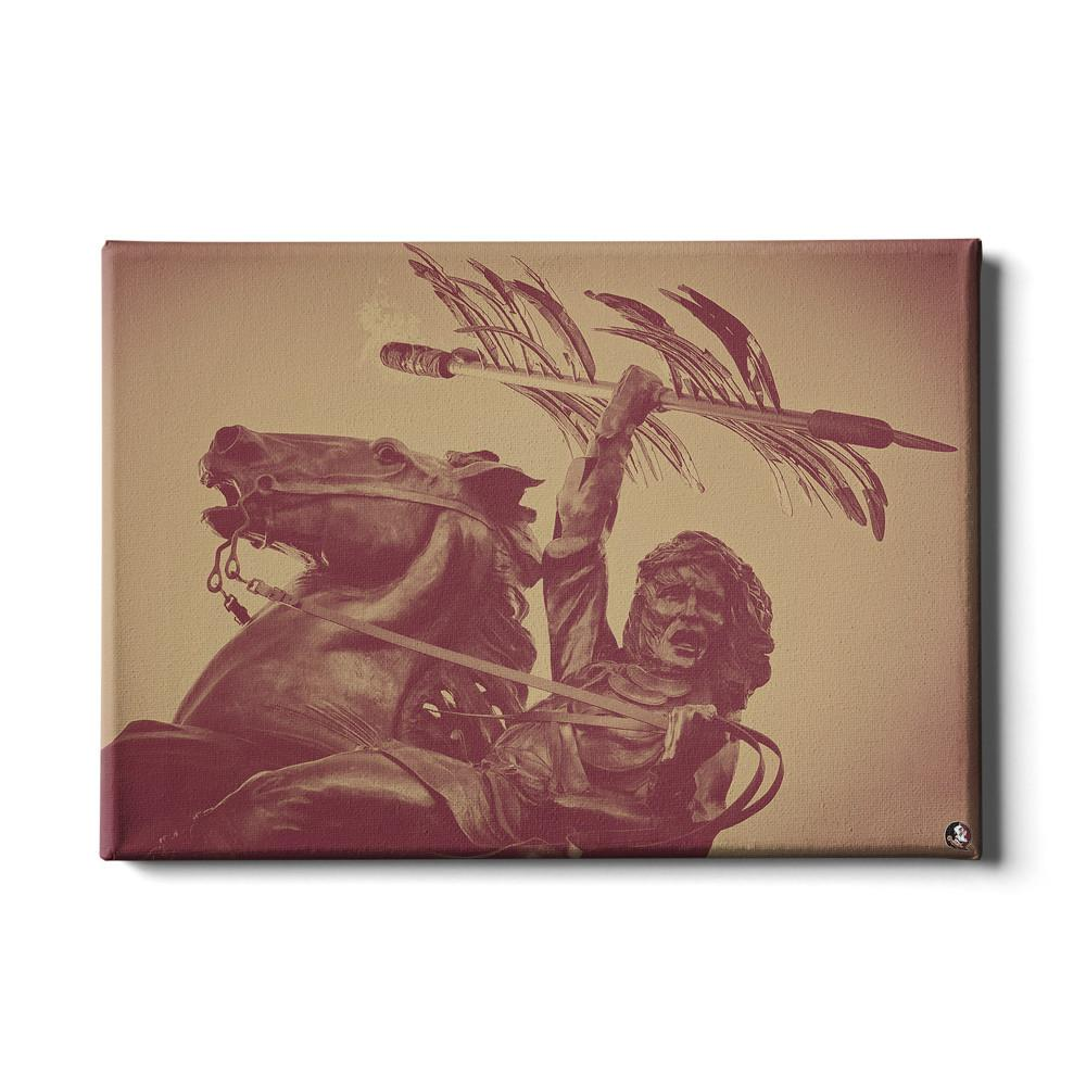 Florida State Seminoles - Unconquered #Canvas