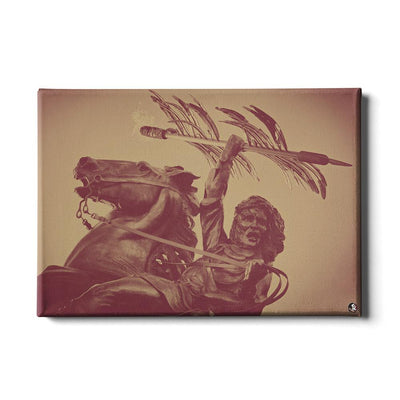 Florida State Seminoles - Unconquered - College Wall Art #Canvas