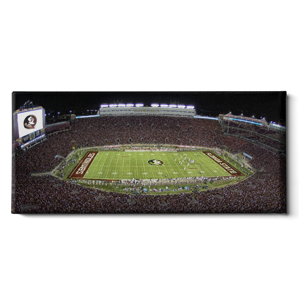 Florida State Seminoles - Doak Pano - College Wall Art #Canvas