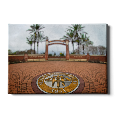 Florida State Seminoles - FSU 1851 - College Wall Art #Canvas