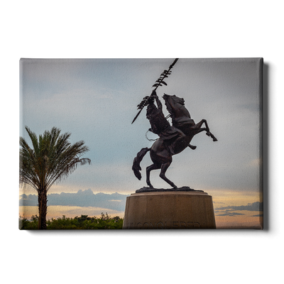 Florida State Seminoles - Unconquered Sunset Skies - College Wall Art #Canvas
