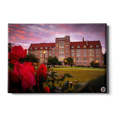 Florida State Seminoles - Red Sunrise Over Landis - College Wall Art #Canvas