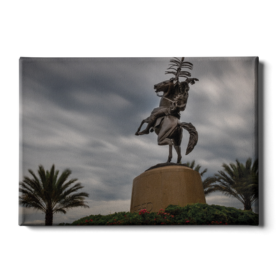 Florida State Seminoles - Unconquered Stormy Skies - College Wall Art #Canvas