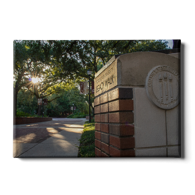 Florida State Seminoles - Legacy Walk Sunrise - College Wall Art #Canvas