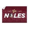 Florida State Seminoles - Go Noles - College Wall Art #Wall Decal