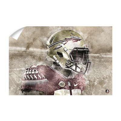 Florida State Seminoles -Vintage Nole - College Wall Art #Wall Decal