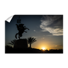 Florida State Seminoles - Seminole Sunrise Silhouette - College Wall Art #Wall Decal
