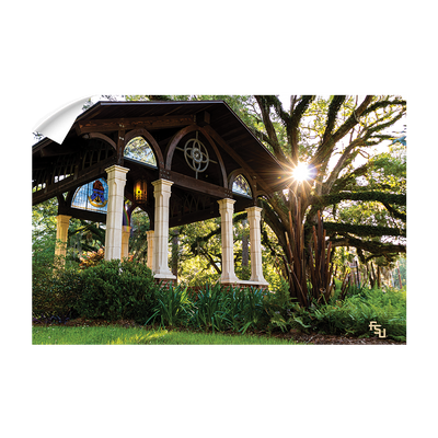 Florida State Seminoles - Gazebo at Greek Park - College Wall Art #Wall Decal
