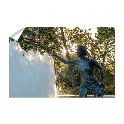 Florida State Seminoles - Landis Fountain Sunrise - College Wall Art #Wall Decal