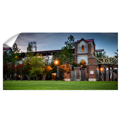 Florida State Seminoles - Dick Howser at Dusk Pano - College Wall Art #Wall Decal