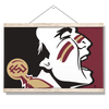 Florida State Seminoles - Osceola Brand - College Wall Art #Hanging Canvas