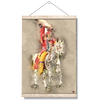 Osceola Watercolor #Hanging Canvas