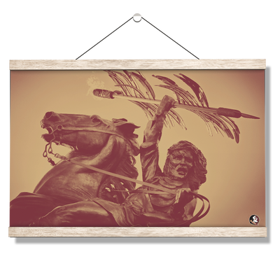 Florida State Seminoles - Unconquered - College Wall Art #Hanging Canvas