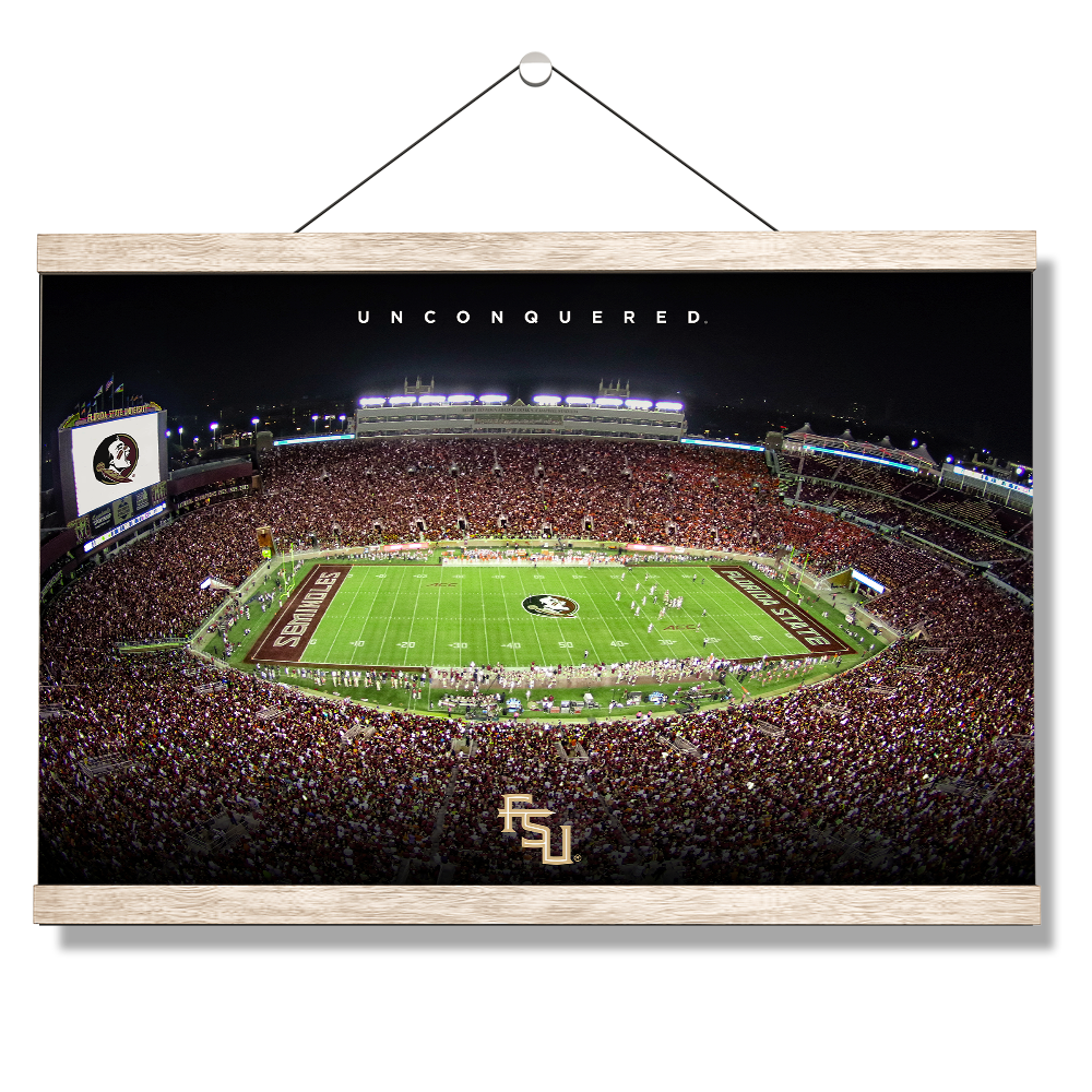 Florida State Seminoles - Unconquered Stadium - College Wall Art #Canvas