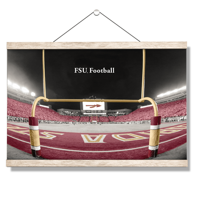 Florida State Seminoles - FSU Football -College Wall Art #Hanging Canvas
