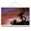 Florida State Seminoles - Osceola Last Light -College Wall Art #Hanging Canvas