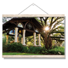 Florida State Seminoles - Gazebo at Greek Park - College Wall Art #Hanging Canvas