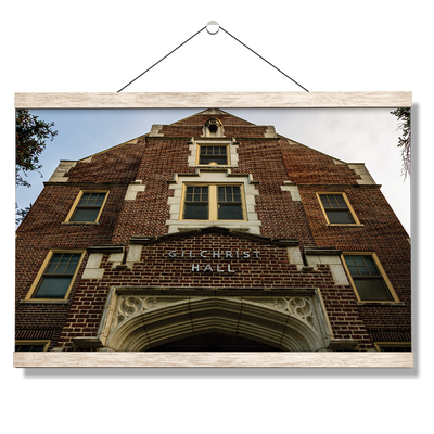 Florida State Seminoles - Gilchrist Hall - College Wall Art #Hanging Canvas