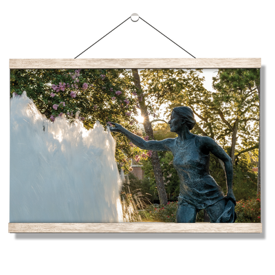 Florida State Seminoles - Landis Fountain Sunrise - College Wall Art #Hanging Canvas