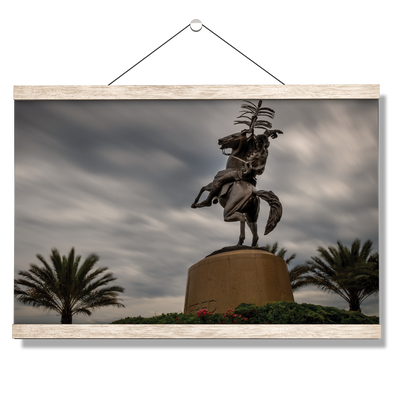 Florida State Seminoles - Unconquered Stormy Skies - College Wall Art #Hanging Canvas