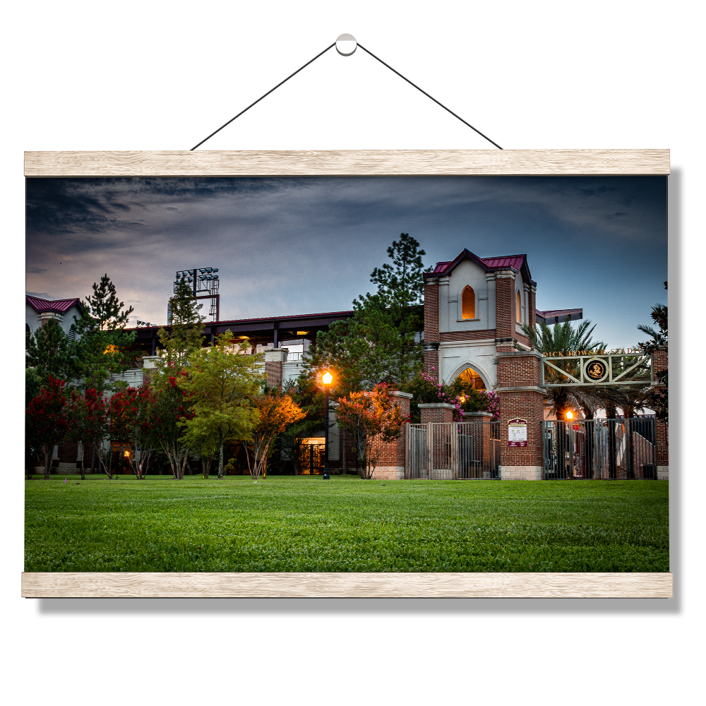 Florida State Seminoles - Dick Howser at Dusk - College Wall Art #Canvas