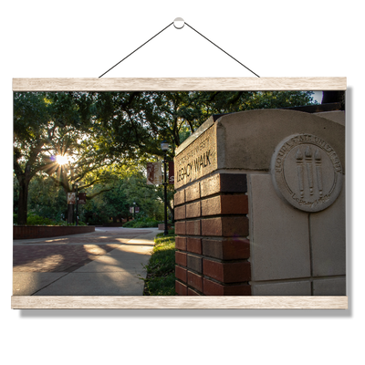Florida State Seminoles - Legacy Walk Sunrise - College Wall Art #Hanging Canvas