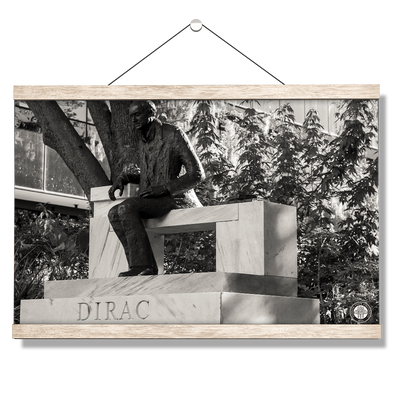 Florida State Seminoles - Dirac Deep in Thought - College Wall Art #Hanging Canvas