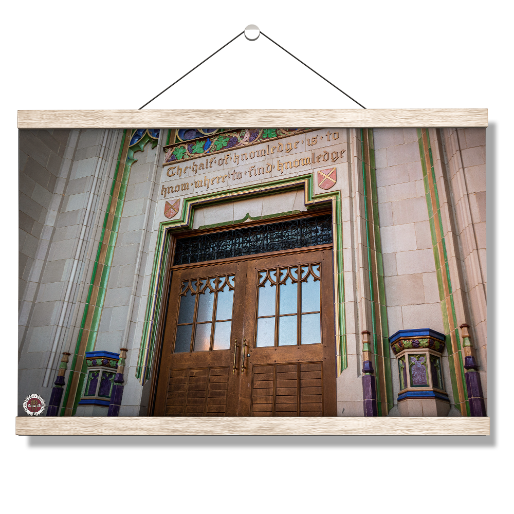 Florida State Seminoles - Dodd Hall - College Wall Art #Canvas