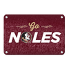 Florida State Seminoles - Go Noles - College Wall Art #Metal