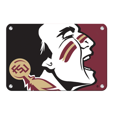 Florida State Seminoles - Osceola Brand - College Wall Art #Metal