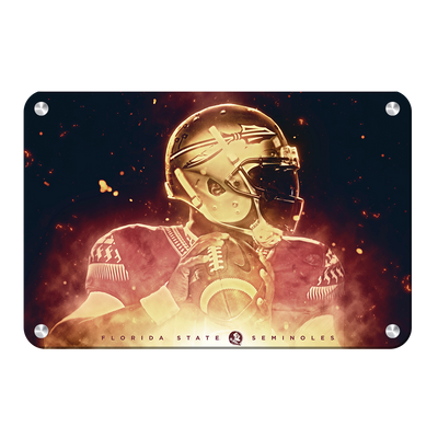 Florida State Seminoles - Epic Seminole - College Wall Art #Metal