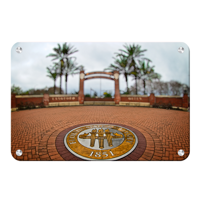 Florida State Seminoles - FSU 1851 - College Wall Art #Metal
