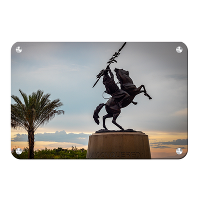Florida State Seminoles - Unconquered Sunset Skies - College Wall Art #Metal