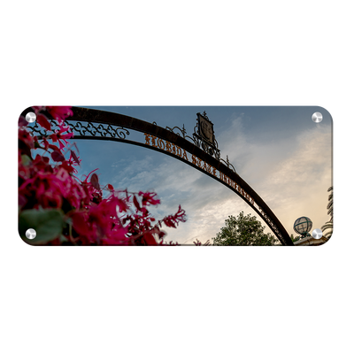 Florida State Seminoles - Gateway to Knowledge Pano - College Wall Art #Metal