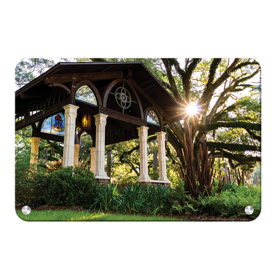 Florida State Seminoles - Gazebo at Greek Park - College Wall Art #Metal