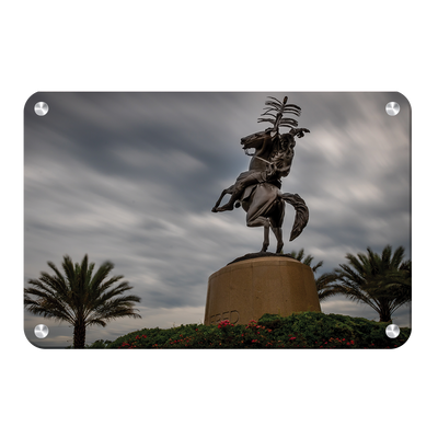Florida State Seminoles - Unconquered Stormy Skies - College Wall Art #Metal