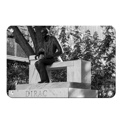 Florida State Seminoles - Dirac Deep in Thought - College Wall Art #Metal