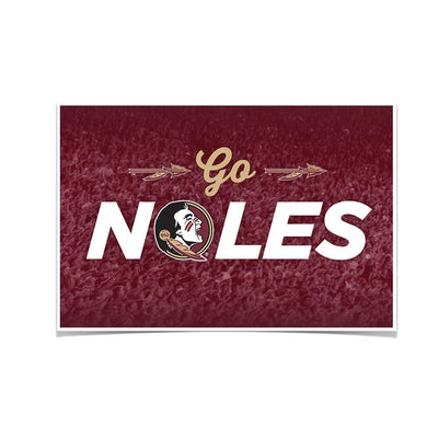 Florida State Seminoles - Go Noles - College Wall Art #Poster